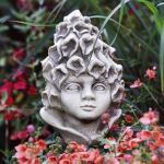 Blumenkind Fingerhütchen Gartenfigur Zauberblume