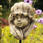 Blumenkind Maiglöckchen Einzelblüte Gartenfigur Zauberblume