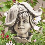 Blumenkind Goldlack Gartenfigur Zauberblume