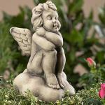 Engel Afriel Gartenskulptur von Zauberblume