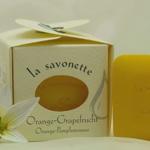 Orangen-Grapefruit Gästeseife 3x25g von LaNature