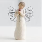 Engel der Liebe mit Rose Angel loving with Rose Schutzengel von Willow Tree