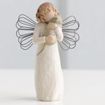 Engel der Warmherzigkeit Angel with affection Schutzengel von Willow Tree