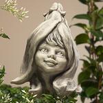 Blumenkind Magnolie Gartenfigur 20cm Zauberblume