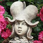 Blumenkind Tränendes Herz Gartenfigur Zauberblume