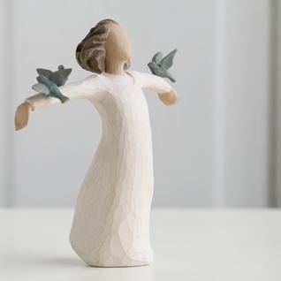 FRÖHLICHKEIT Happiness Figur von Willow Tree
