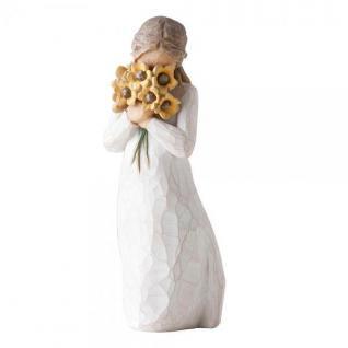 Herzliche Umarmung Warm embrace Figur von Susan Lordi Willow Tree Demdaco