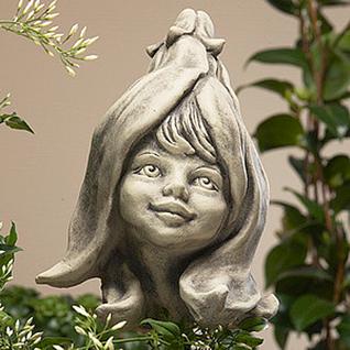 Blumenkind Magnolie Gartenfigur 20cm Zauberblume - Vorschau 1