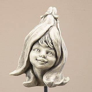 Blumenkind Magnolie Gartenfigur 20cm Zauberblume - Vorschau 2