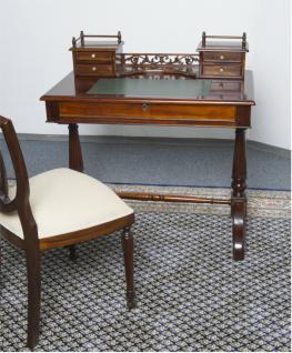 Englischer Sekretär Schreibtisch Mahagoni