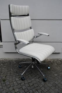 Bürosessel Chefsessel Schreibtischstuhl Sessel Leder in vier Farben lieferbar