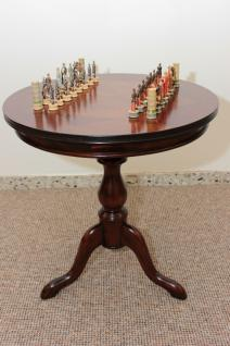 Tisch Schachtisch Spieltisch Mahagoni NEU - sofort lieferbar - Vorschau 1