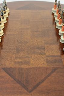 Tisch Schachtisch Spieltisch Mahagoni NEU - sofort lieferbar - Vorschau 2