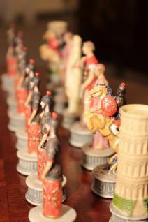Tisch Schachtisch Spieltisch Mahagoni NEU - sofort lieferbar - Vorschau 3
