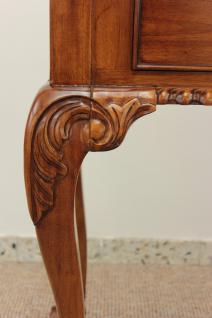 Englischer Chippendale Schreibtisch Konsole Mahagoni light brown walnuss - Vorschau 3