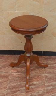 Tisch Teetisch Beistelltisch Wine Table Mahagoni hell - Vorschau