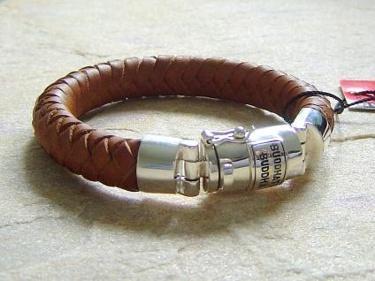 Buddha to Buddha Armband Ben cognac