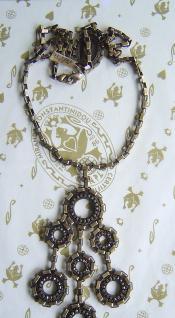 KONPLOTT Kette Rock 'n' Glam crystal / antique bronce