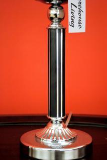 stylishe Lampe Leuchte Tischleuchte Tischlampe Chrom / Black Höhe 48 cm - Vorschau 2