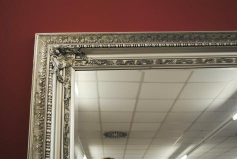 Grosser Spiegel Wandspiegel Farbe Shiny Silber mit Facettenschliff 120 x 200 cm - Vorschau 3