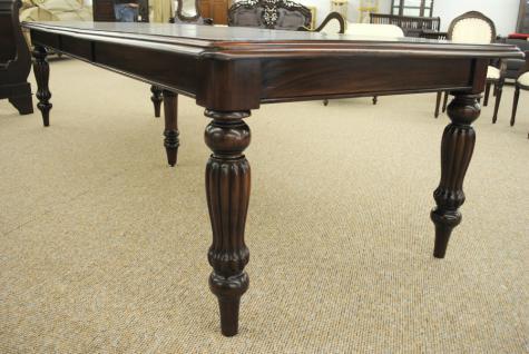 Massivholz Tisch Esstisch Mahagoni Louis Stil Länge 330 cm Premium Qualität - Vorschau 3