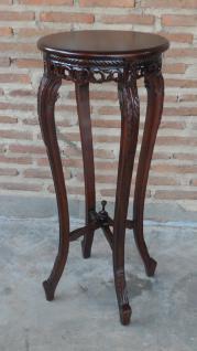 Blumenständer Beistelltisch Tisch aus Mahagoni Handarbeit
