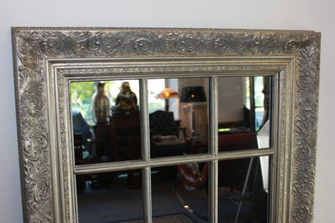Grosser Spiegel Wandspiegel Farbe Shiny Silber mit Facettenschliff 82 x 142, 5 cm - Vorschau 2