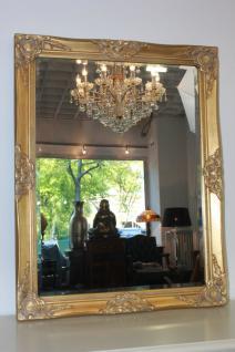Spiegel Wandspiegel Farbe Gold mit Facettenschliff 70 x 90 cm - Vorschau 1
