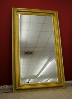 Imposanter Spiegel Wandspiegel Farbe Gold mit Facettenschliff 120 x 200 cm