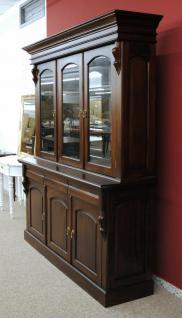 Buffet Schrank Mahagoni massiv Victorianischer Stil - Vorschau 2