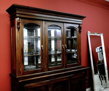 Buffet Schrank Mahagoni massiv Victorianischer Stil - Vorschau 3