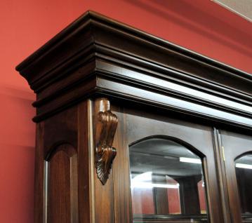 Buffet Schrank Mahagoni massiv Victorianischer Stil - Vorschau 4