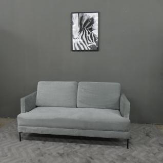 Sofa Couch Fluente (2-Sitzer) Samt
