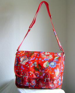 Oilily Damen Messenger Bag gross Farbe Scarlett