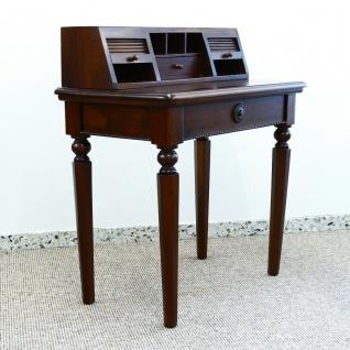 Ausstellungsstück - Englischer Sekretär Schreibtisch Mahagoni Serie Vanessa