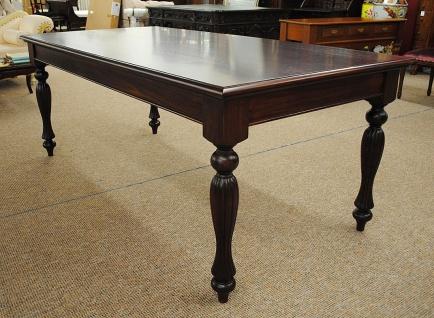 Tisch Esstisch Mahagoni Louis Stil 250 cm Farbe braun Walnuss