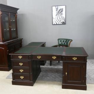Empire Sekretär Schreibtisch Partner Desk Doppel Partner Desk Mahagoni