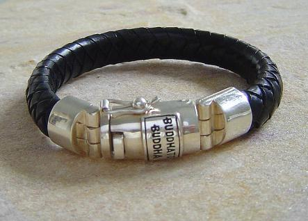 Buddha to Buddha Armband Ben black