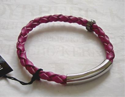 Dyrberg Kern Leder Armband Sona SS / Pink - Vorschau 1