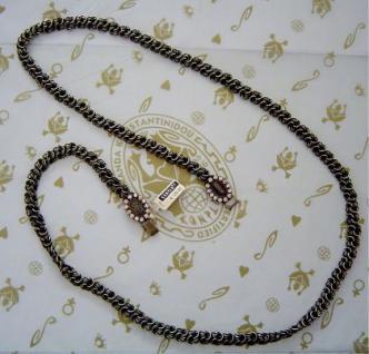 KONPLOTT Kette La Comtesse beige antique bronce