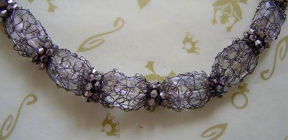 KONPLOTT Kette Ice Cocoon crystal / antique silver - Vorschau 2