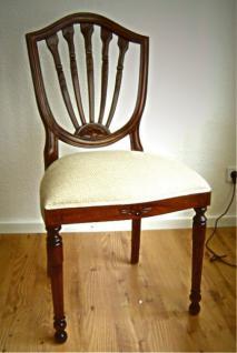 Wunderschöner Stuhl Mahagoni Louis Stil