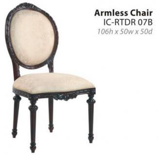 6 Stühle Mahagoni Riton 4 ohne 2 mit Armlehne - Vorschau 3