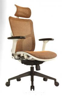 Chefsessel Büro Stuhl Textilgewebe braun, auch in anderen Farben bestellbar