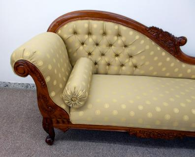 edle recamiere ottomane im antikdesign neu aus massiv mahagoni handarbeit kaufen bei manfred. Black Bedroom Furniture Sets. Home Design Ideas