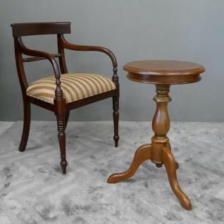 Tisch Teetisch Beistelltisch Wine Table Mahagoni hell