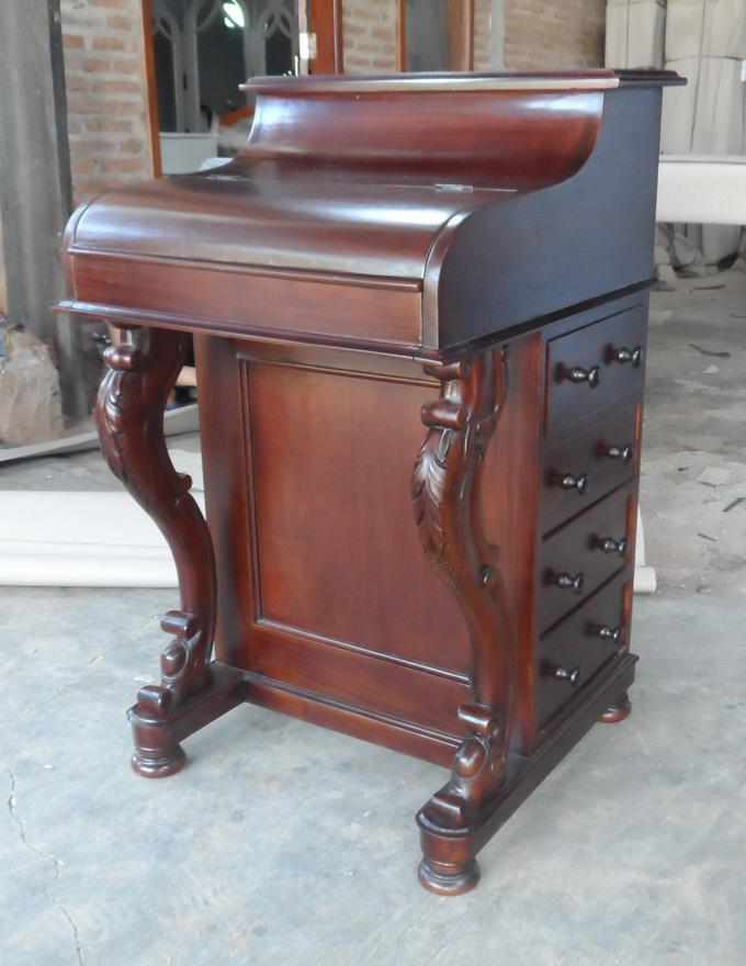 schreibtisch mahagoni. Black Bedroom Furniture Sets. Home Design Ideas