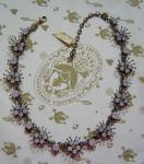 KONPLOTT Kette / Collier Petit Four de Fleur Opal multi / antique bronce