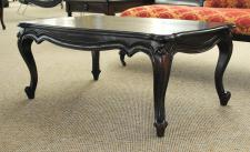 Chippendale Tisch Couchtisch Mahagoni Farbe Mahagoni rot