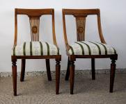 8 Stühle Stuhl Massivholz Mahagoni aus der Serie Vanessa Premium Qualität